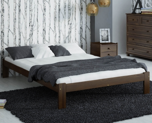 Anzu VitBed ágy 140x200cm dió