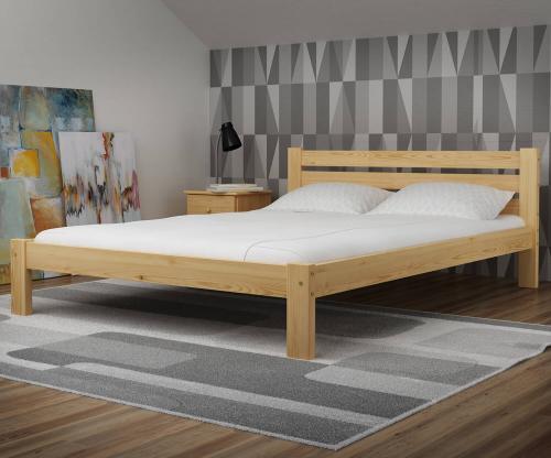 Ajza fenyő ágy 160x200
