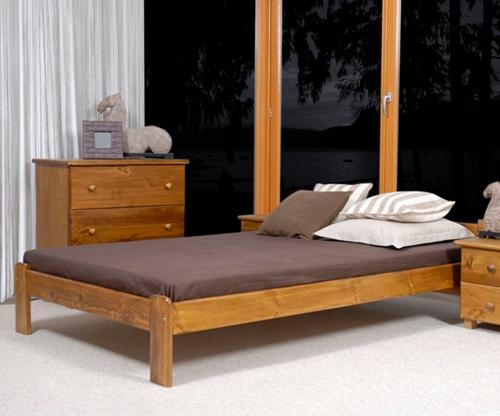 Jasnena ágy 140x200 tölgy