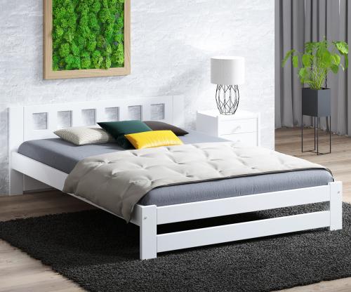 DMD12 ágy 120x200cm fehér