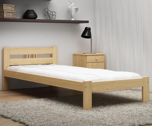 ESM1 nem lakkozott fenyő ágy 90x200cm