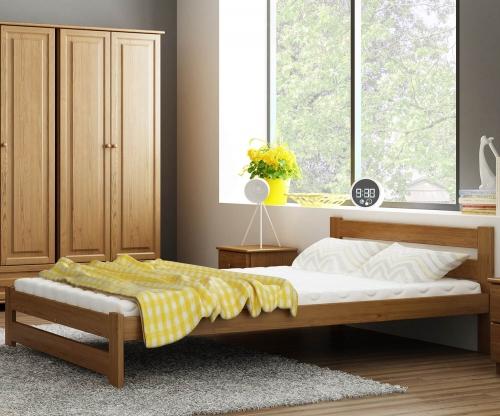 Eureka VitBed ágy 140x200cm tölgy