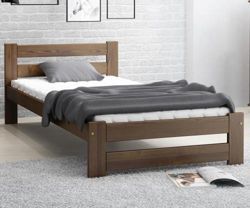 Eureka VitBed ágy 90x200cm dió