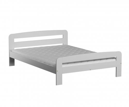 Nastenka ágy 120x200 tömör fenyő fehér