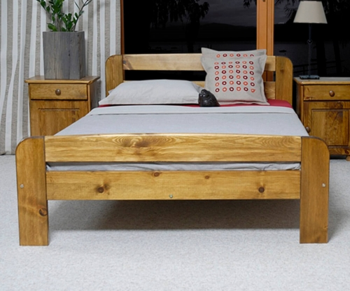 Nastenka ágy 180x200 tölgy