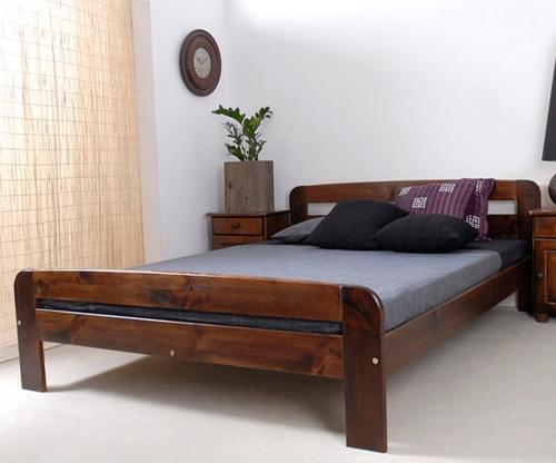 Nastenka ágy 140x200 dió