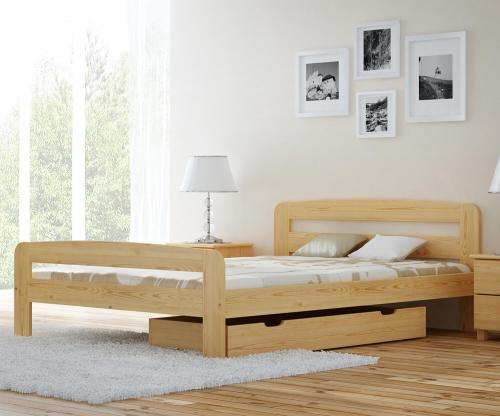 Nastenka ágy fenyő 140x200