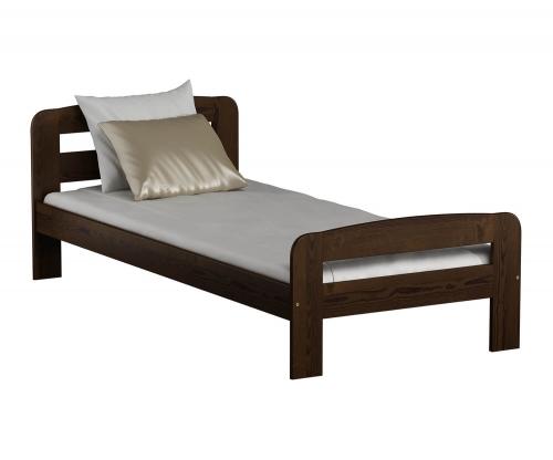 Nastenka ágy 90x200 dió