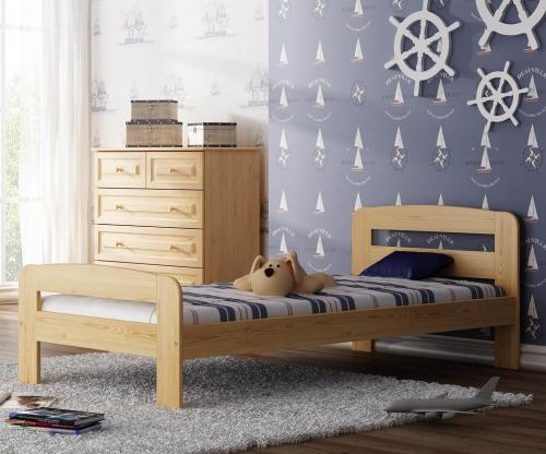 Nastenka ágy fenyő 90x200