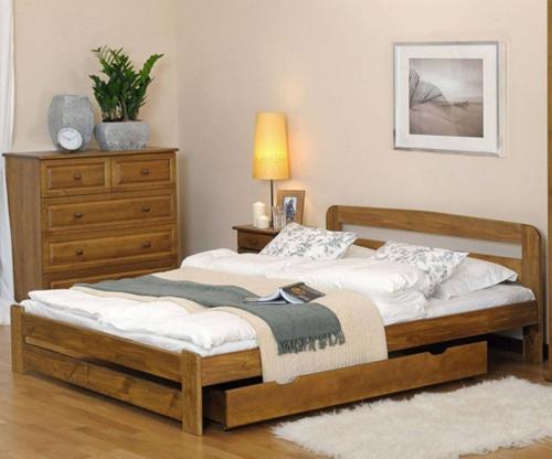 Sasa ágy 180x200 tölgy