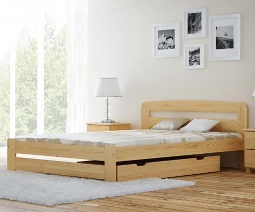 Sasa ágy fenyő 180x200