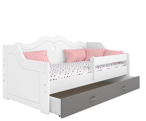 Lilia gyermek ágy 160x80 fehér