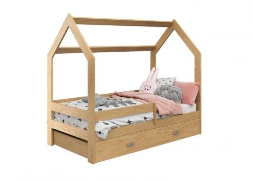 HÁZIKÓ D3 gyermek ágy  80x160cm tömör fenyő
