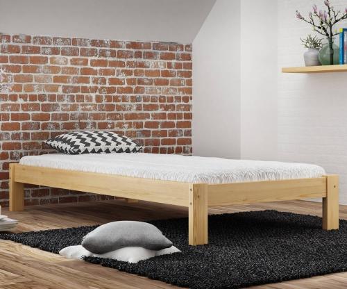 Luisa tömör fenyő ágy  90x200