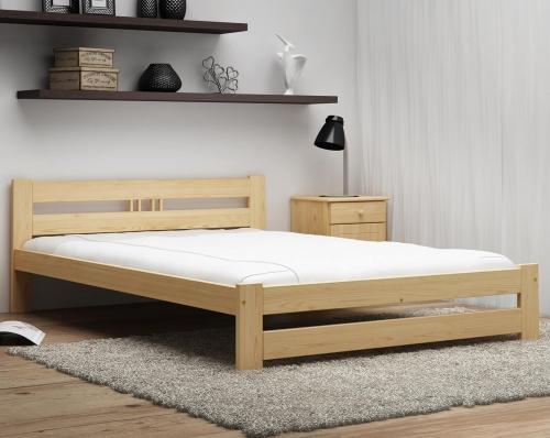 LUX VitBed fenyő ágy lakkozás nélkül 160x200cm