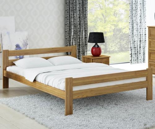 Kenta VitBed ágy 120x200cm tölgy