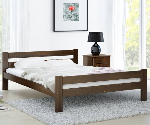 Kenta VitBed ágy 140x200cm dió