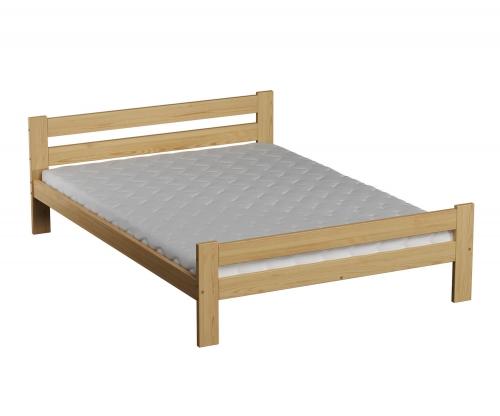 Kenta VitBed fenyő ágy 120x200cm lakkozás nélkül