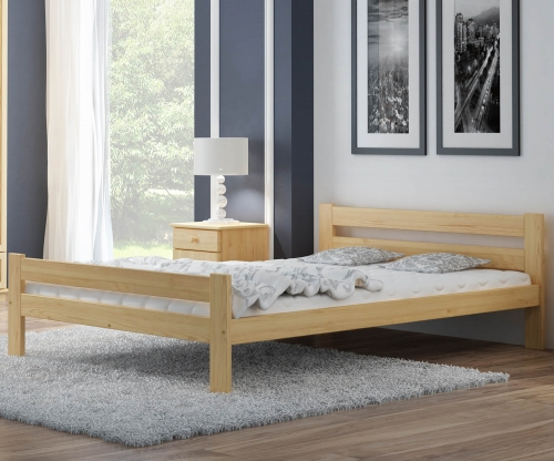 Kenta VitBed fenyő ágy 120x200cm
