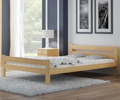 Kenta VitBed fenyő ágy 160x200cm lakkozás nélkül