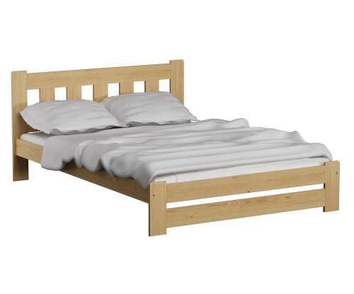 Mila ágy tölgy 120x200