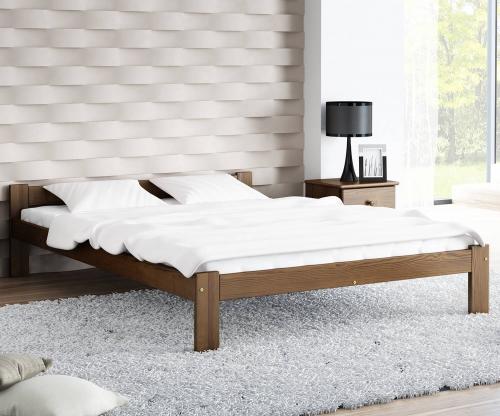 Isao VitBed ágy 120x200cm dió
