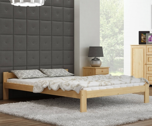 Isao VitBed fenyő ágy 160x200cm