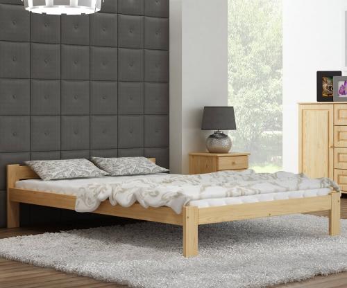 Isao VitBed fenyő ágy 120x200cm lakkozás nélkül