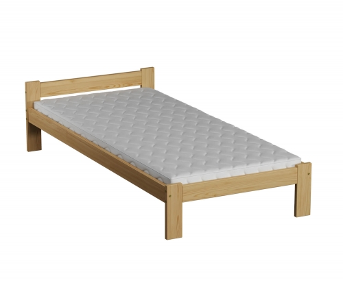 Isao VitBed fenyő ágy 90x200cm lakkozás nélkül