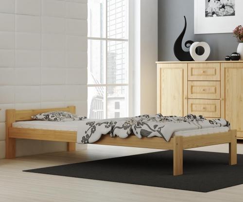 Isao VitBed fenyő ágy 90x200cm + Matrac Heka 90x200