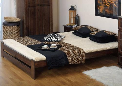 Eoshop Niwa ágy 160x200 - dió