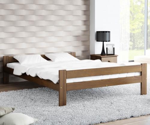 Fumi VitBed ágy 140x200cm dió