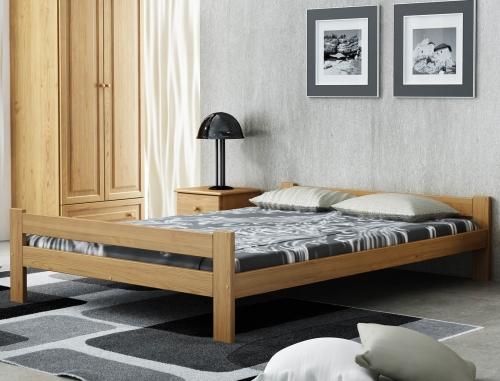 Fumi VitBed ágy 140x200cm tölgy