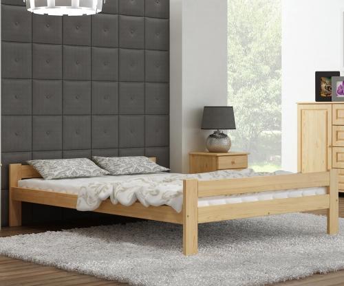 Fumi VitBed fenyő ágy 140x200cm lakkozás nélkül
