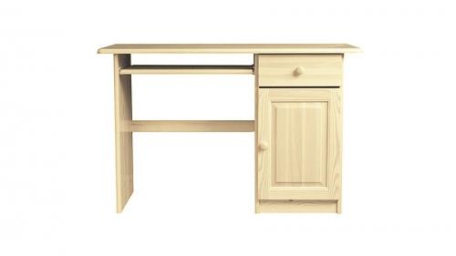 Fenyő íróasztal Marcel mélység 48