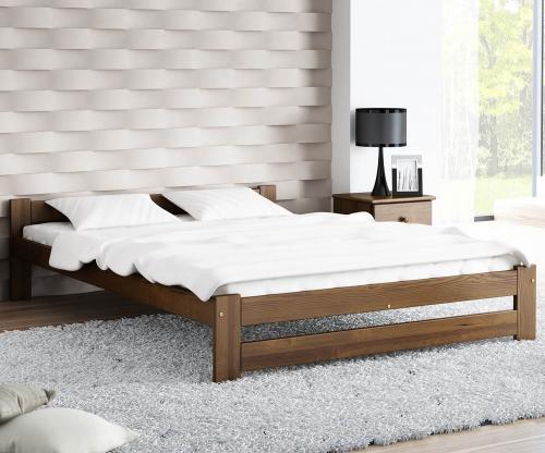 Ran VitBed ágy 140x200cm dió