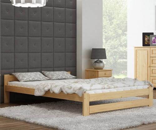 Ran VitBed fenyő ágy lakkozás nélkül 160x200cm