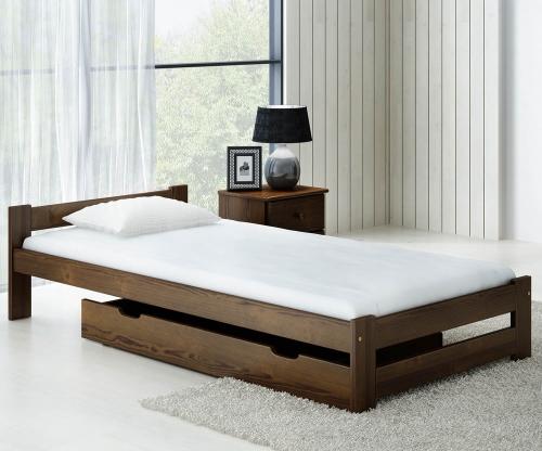 Ran VitBed ágy 90x200cm dió