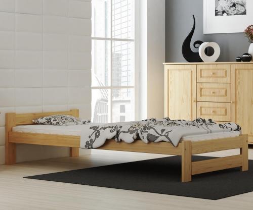 Ran VitBed fenyő ágy lakkozás nélkül 90x200cm