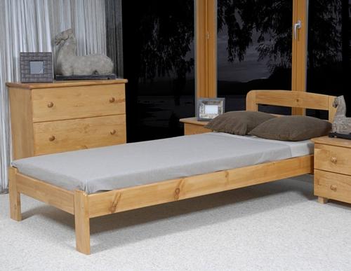 Marcelína ágy 90x200 éger