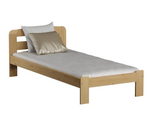 MAGNAT Sara ágy 90x200 ágyráccsal - tömör fenyő