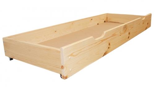 Fenyő ágy alatti tároló 98 cm